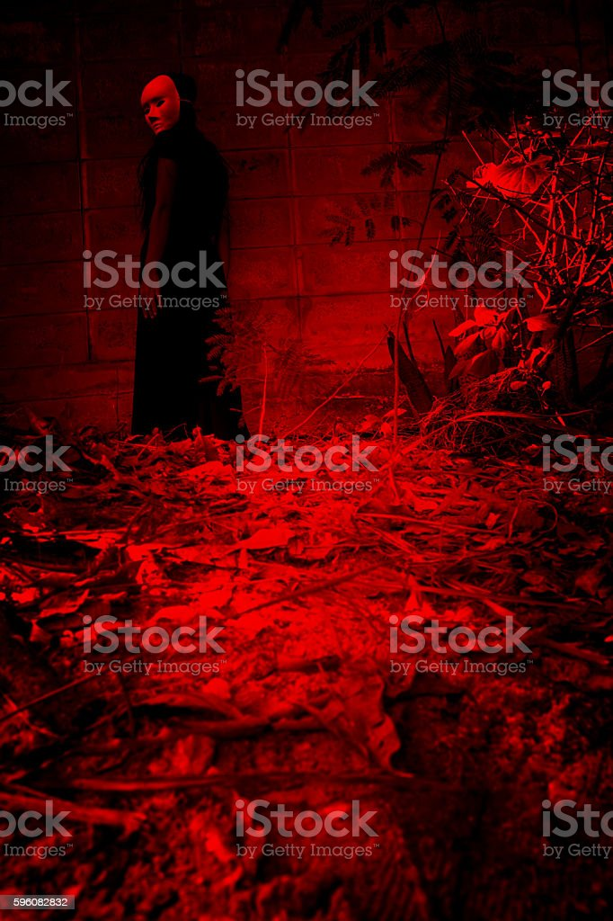Halloween haunting royalty-free stock photo
