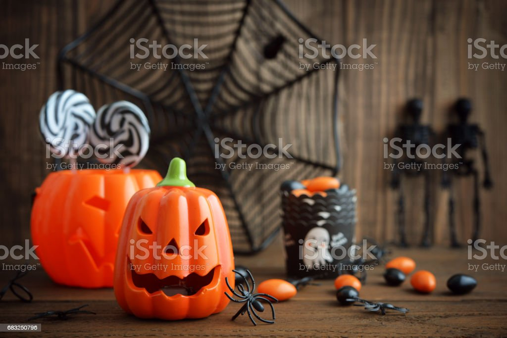 Halloween holiday background royalty-free stock photo