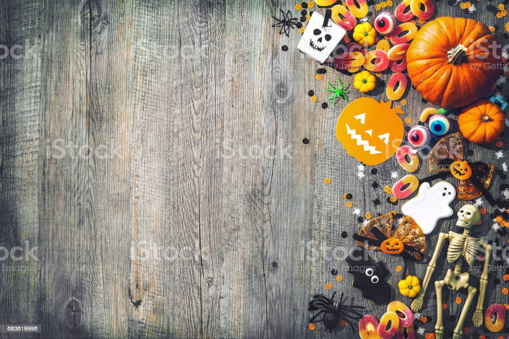 Halloween holiday background - foto de stock