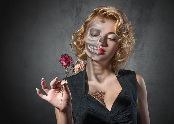 halloween image – female portrait - cursed stock pictures, royalty-free photos & images
