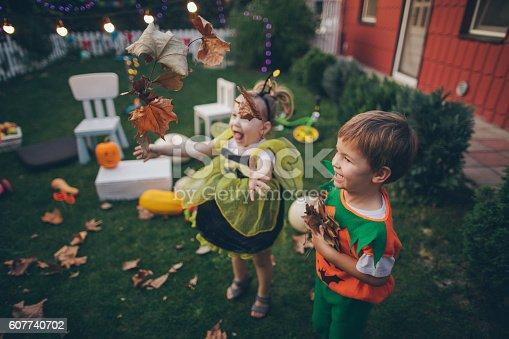 istock Halloween in our backyard 607740702