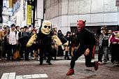 渋谷の東京、日本のハロウィーン