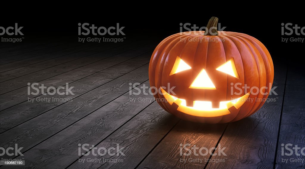 Halloween Jack O' lantern A01 stock photo