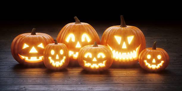 Halloween Jack O' lantern A07 stock photo