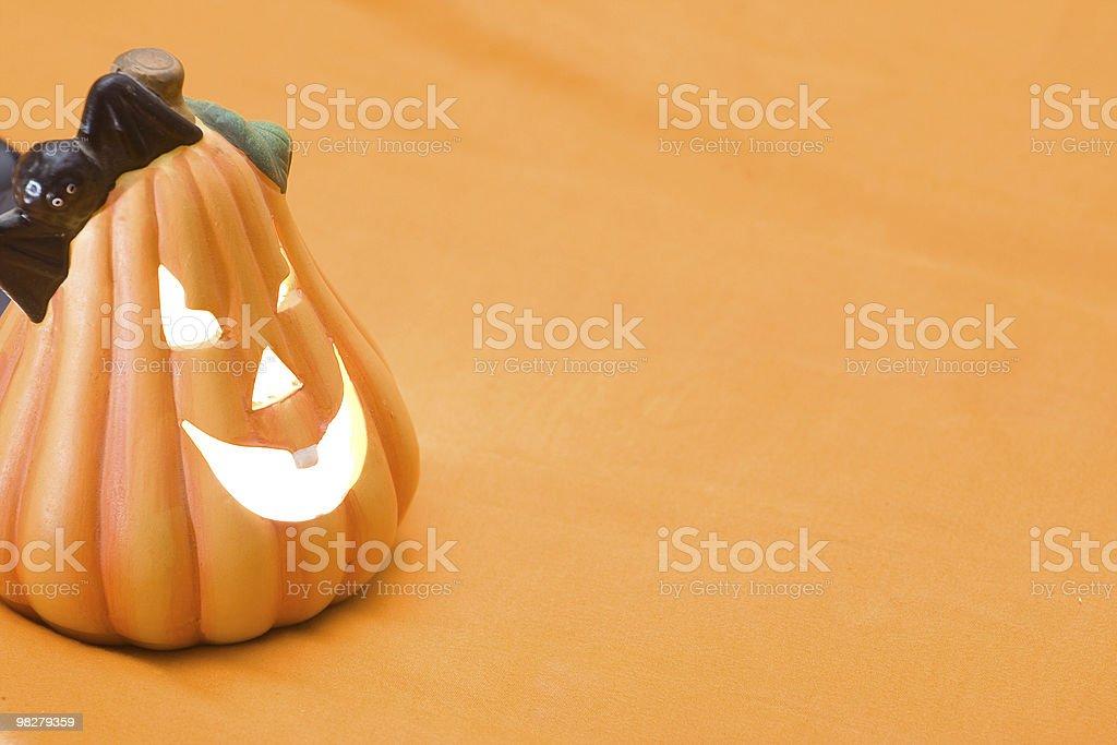 Halloween Jack-o-lantern royalty-free stock photo