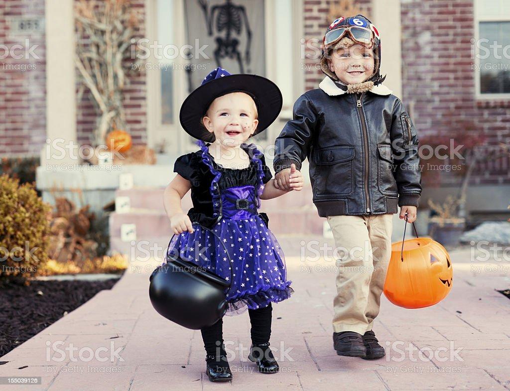 Halloween Kids stock photo