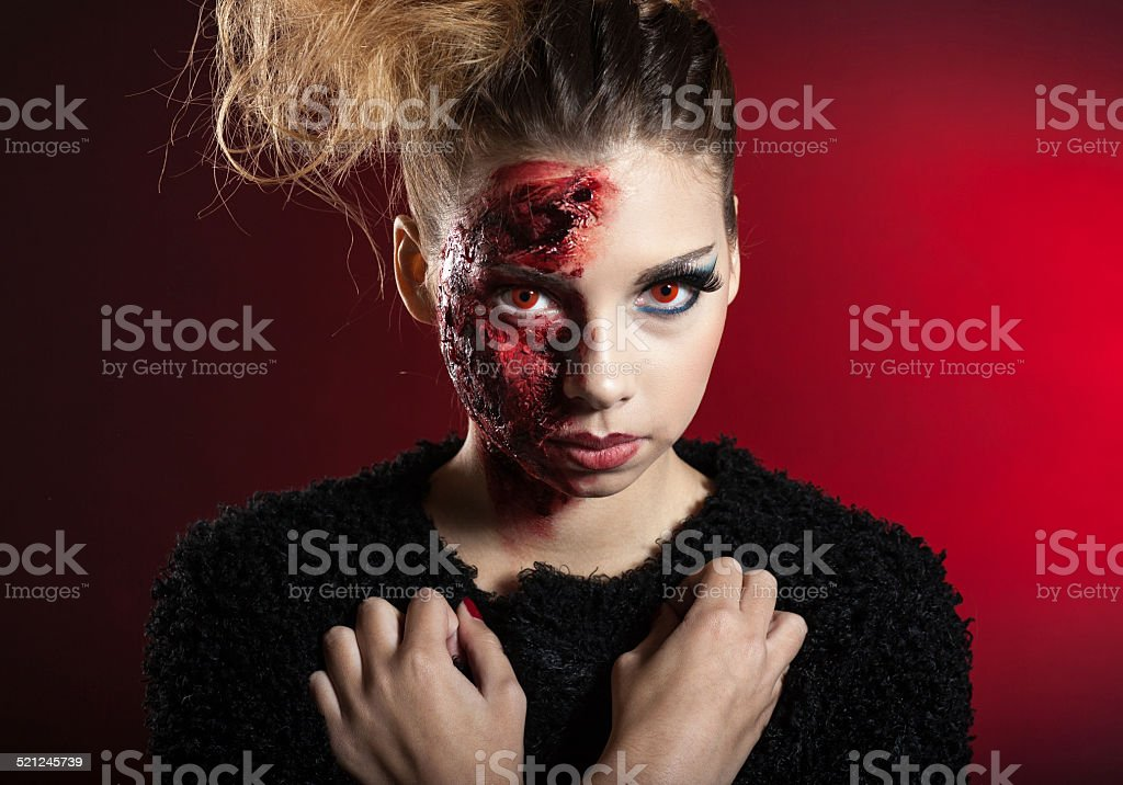Halloween living dead stock photo