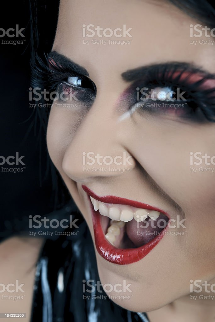 halloween makeup royalty free stock photo