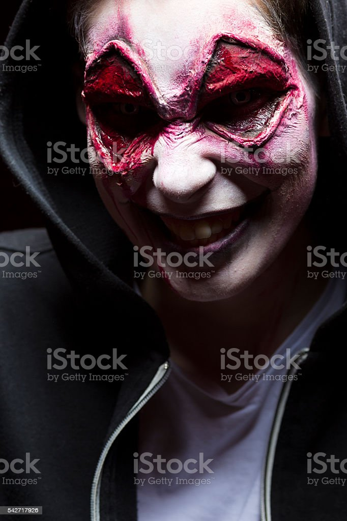 Halloween Maan.Halloween Man Face Stock Photo More Pictures Of 20 24