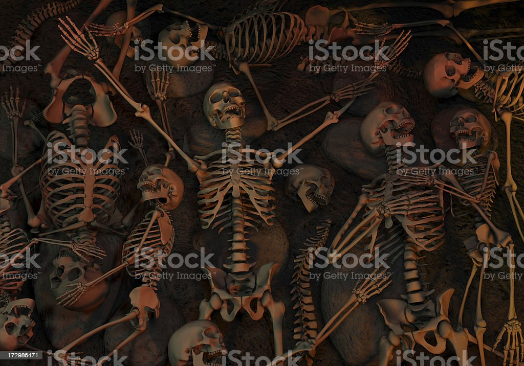Halloween, Massacre, Genocide royalty-free stock photo