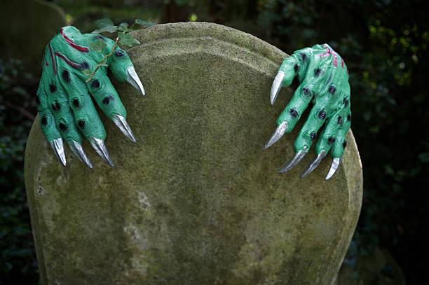Halloween monster hands reach around graveyard tombstone picture id155380534?b=1&k=6&m=155380534&s=612x612&w=0&h= 0vmm2te n7zamsmf9vfrw4jwajws3oa 58nnd2v1fg=