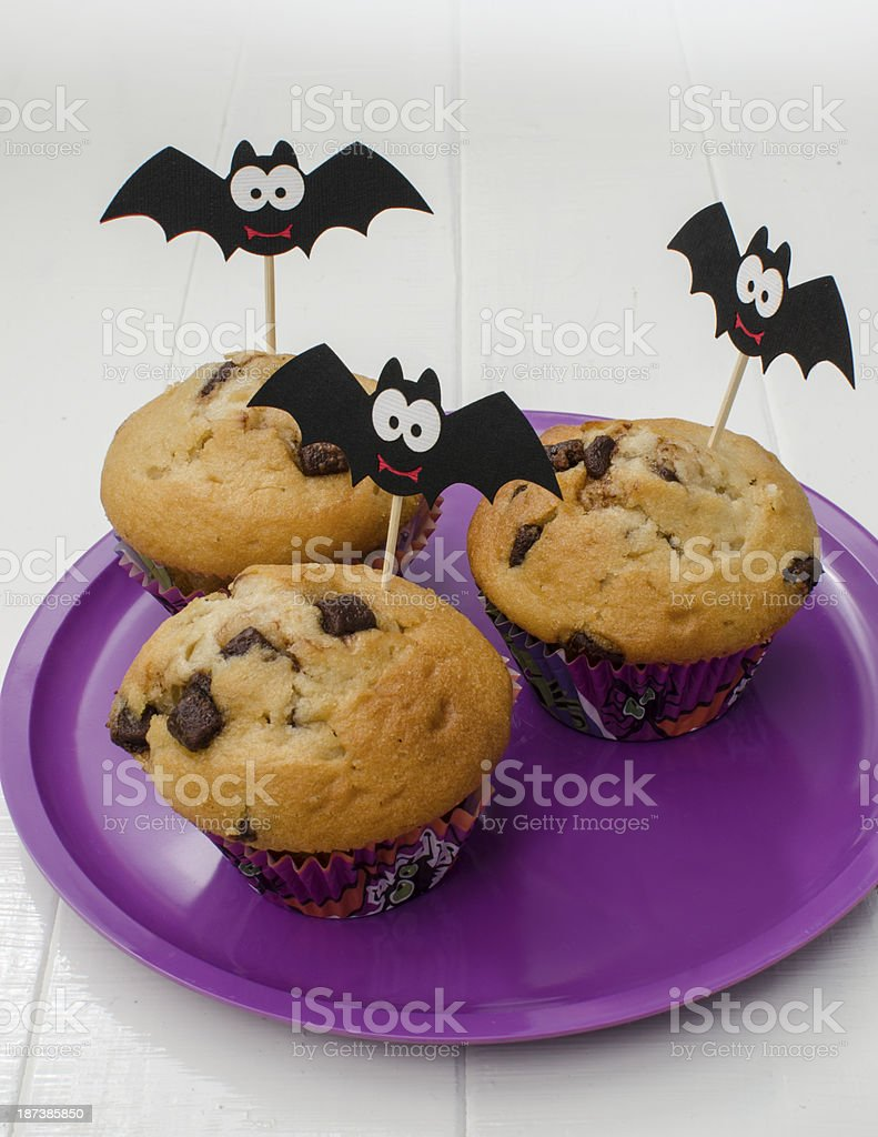 Halloween Muffins royalty-free stock photo