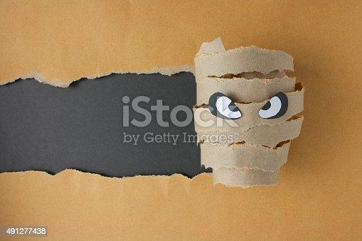 istock Halloween mummy 491277438