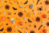 Halloween object background