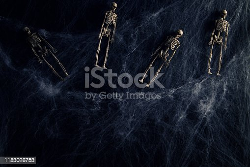 istock Halloween or horror background. 1183026753
