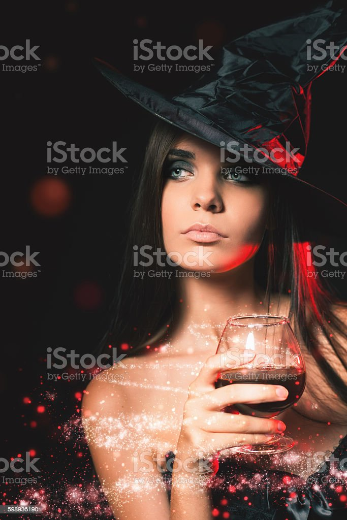 Halloween party. Halloween costumes. stock photo