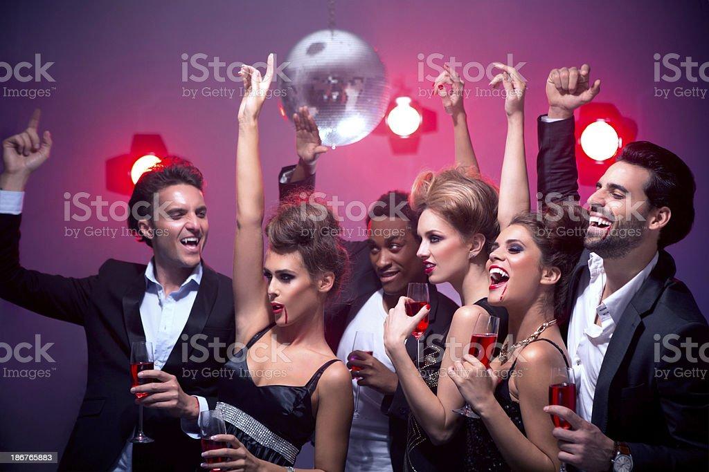 Halloween party. royalty-free stock photo