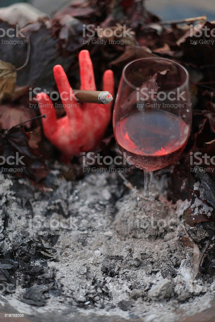 halloween - Royalty-free Alcohol - Drink Stock Photo