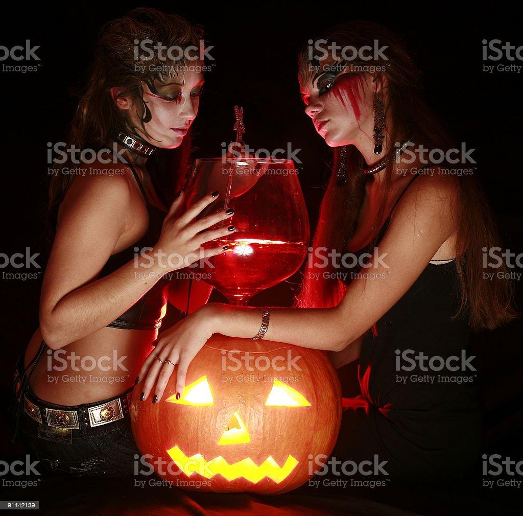 Halloween royalty-free stock photo