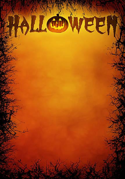 halloween-poster - halloween party einladungen stock-fotos und bilder