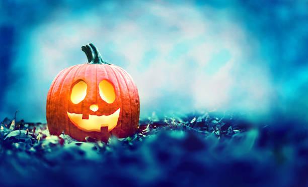 ハロウィーンパンプキンの夜 - halloween ストックフォトと画像