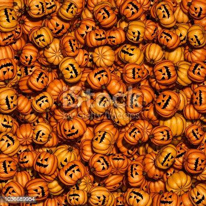 istock Halloween pumpkin background 1036689954