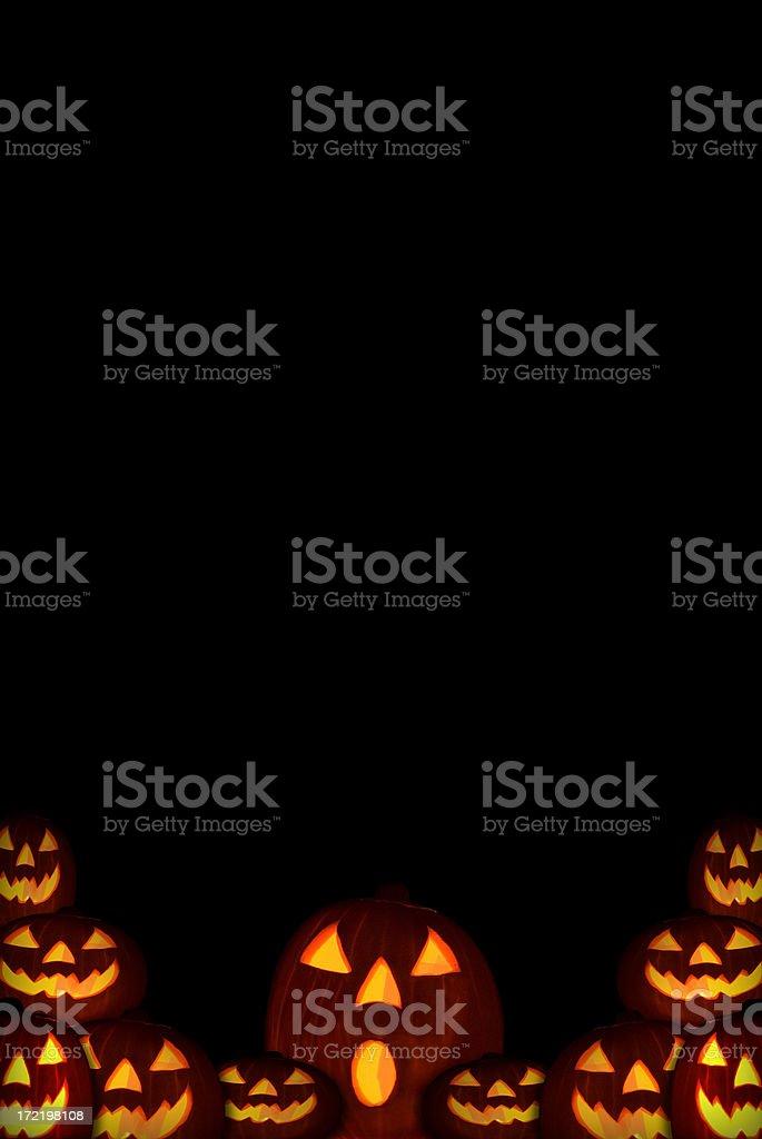 Halloween Pumpkin Background royalty-free stock photo