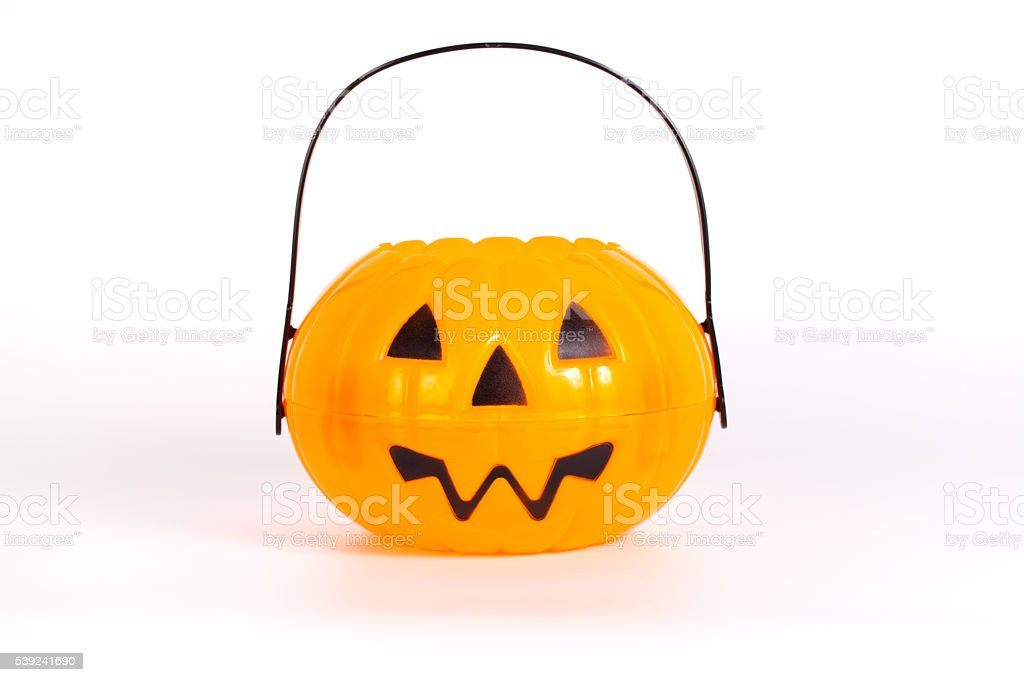 Halloween Pumpkin isolated on white background royalty-free stock photo