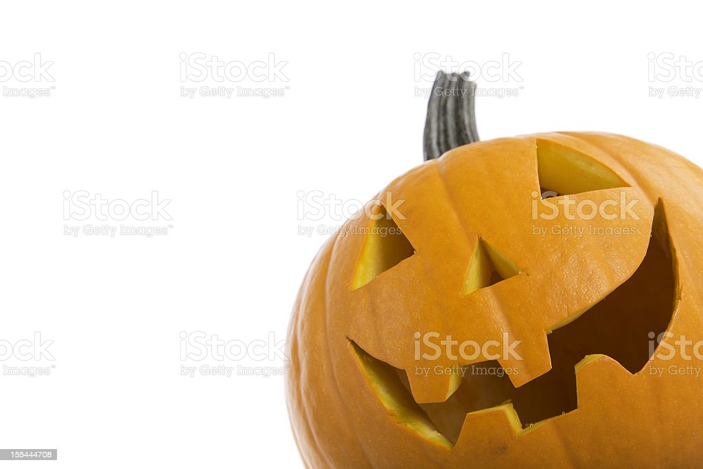 halloween pumpkin Jack-o'-lantern royalty-free stock photo