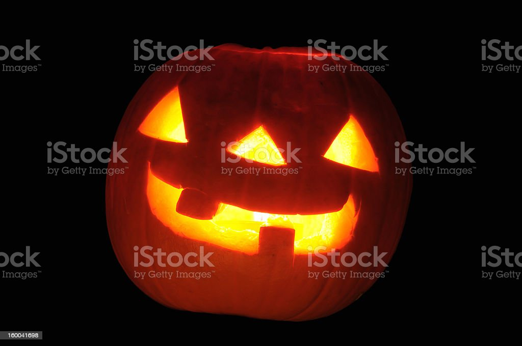 Halloween Pumpkin Lantern stock photo