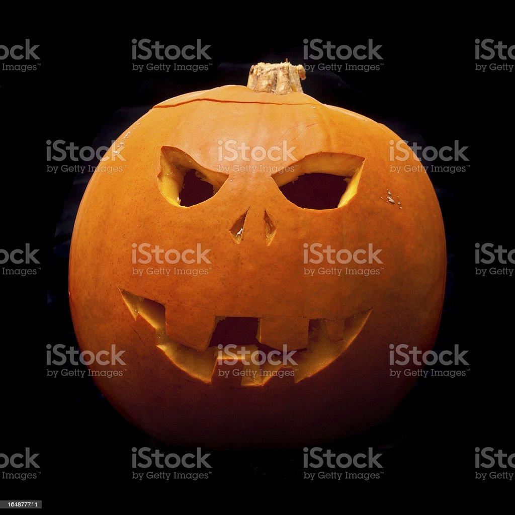 Halloween pumpkin lantern. royalty-free stock photo