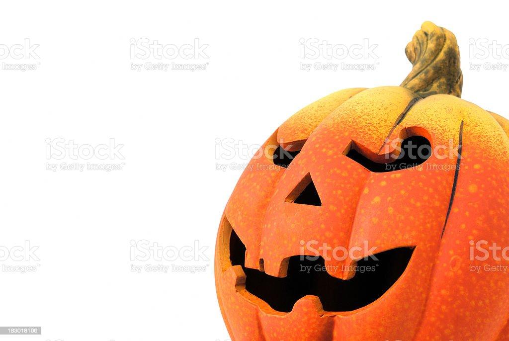Halloween pumpkin royalty-free stock photo