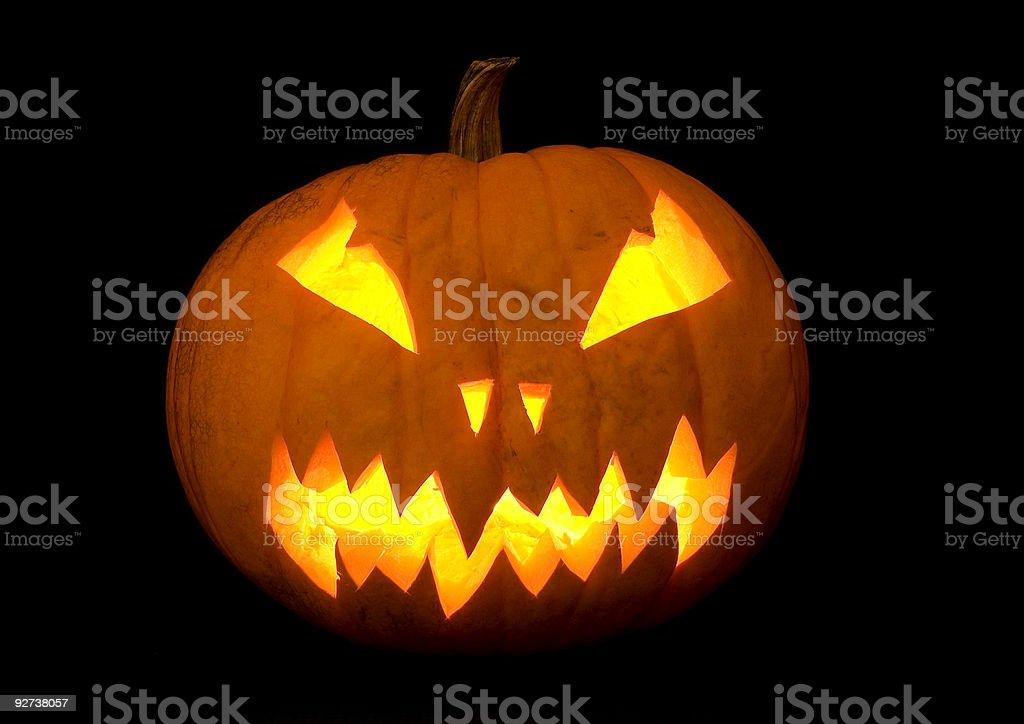 halloween Kürbis Lizenzfreies stock-foto