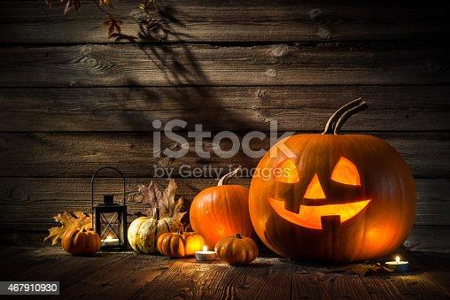 483328044 istock photo Halloween Pumpkins 467910930