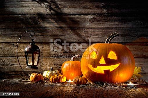 483328044 istock photo Halloween Pumpkins 477354108