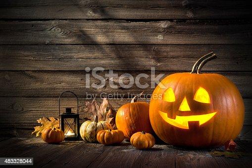 483328044 istock photo Halloween Pumpkins 483328044