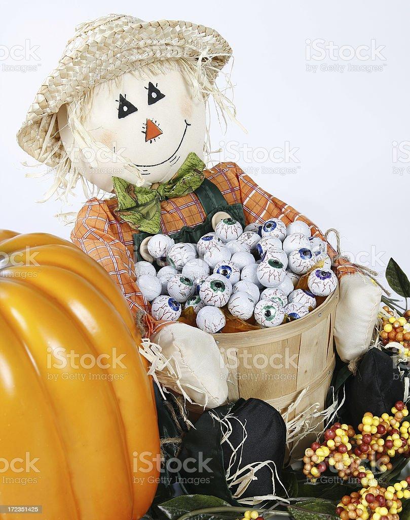Halloween Scene royalty-free stock photo