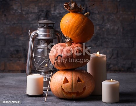 483328044 istock photo Halloween still life background with copy space 1032153508