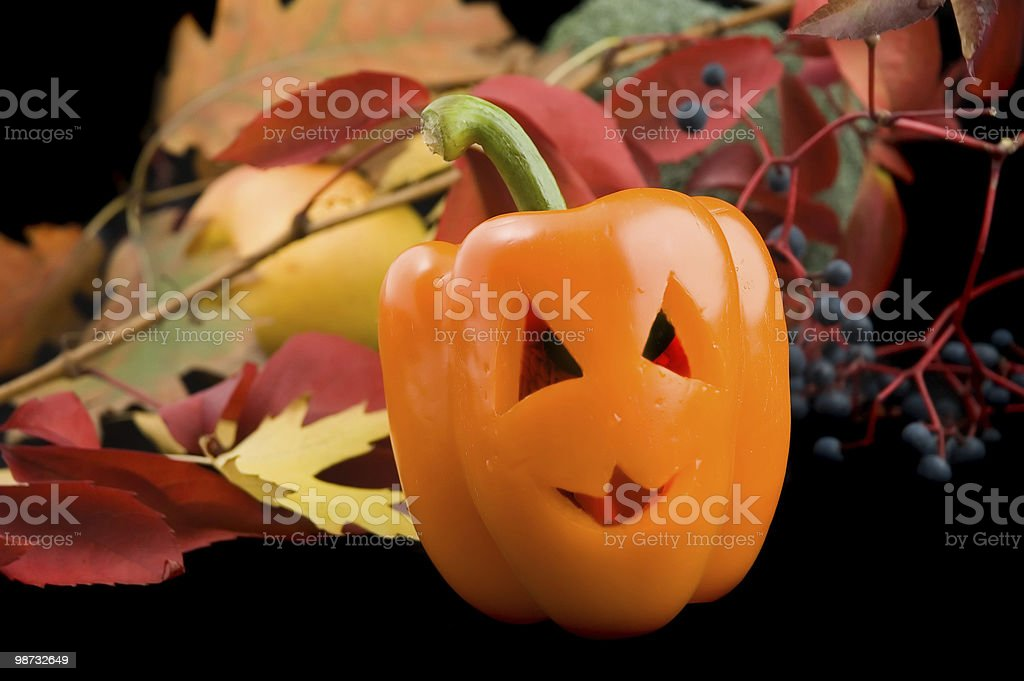 Halloween still-life royalty-free stock photo