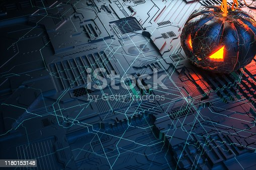close up Artificial Intelligence technology brain for backgrounds.Artificial Neural Networks cpu circuit board