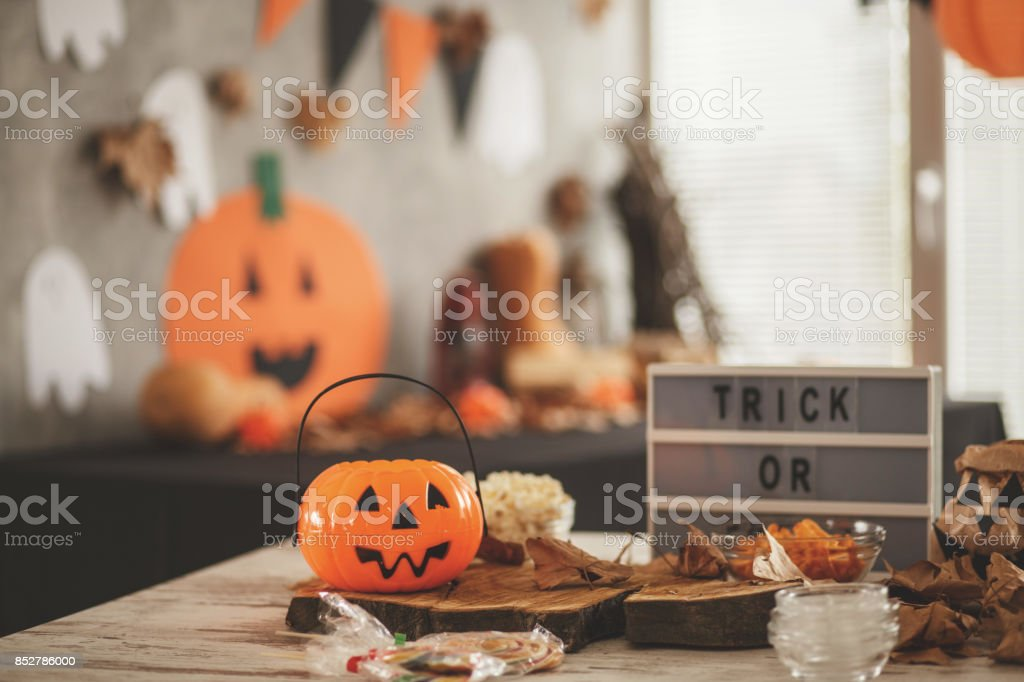 Halloween theme stock photo
