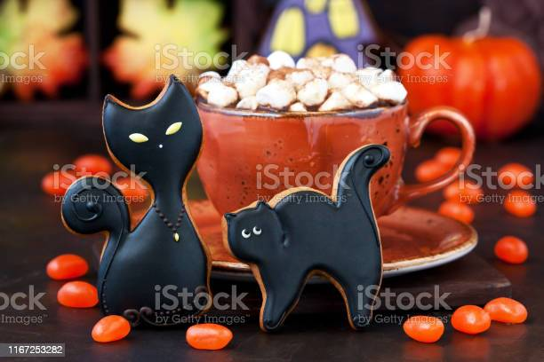 Halloween time composition with cookies and hot chocolate mug picture id1167253282?b=1&k=6&m=1167253282&s=612x612&h=5hptb6nnkzlfqbvq3u0nwthzbizly3apdjnxcadgp90=