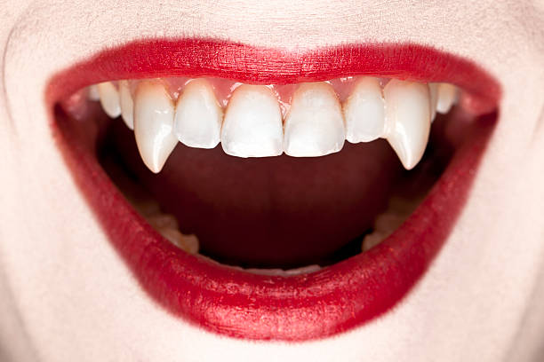 Halloween Vampire Teeth http://dieterspears.com/istock/links/button_halloween.jpg fang stock pictures, royalty-free photos & images