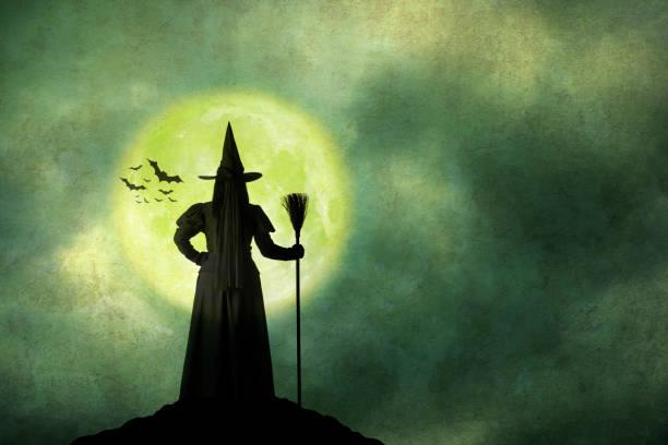 Halloween witch holds her broom standing in front of full moon picture id850179534?b=1&k=6&m=850179534&s=612x612&w=0&h=zs1tgptycp7oxxvu0l6ccmqibfiwi0tkowgfdyekpzw=