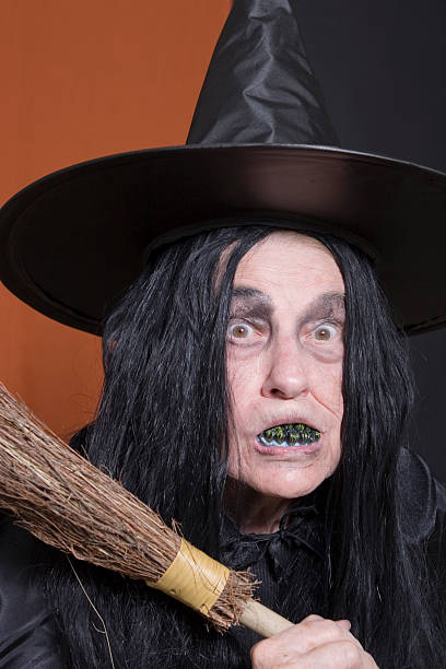 Halloween de brujas - foto de stock