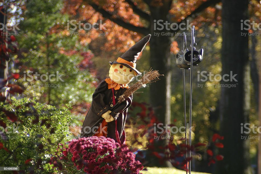 Halloween Witch #2 royalty-free stock photo