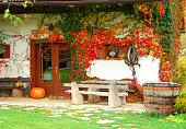 Hallowen country house