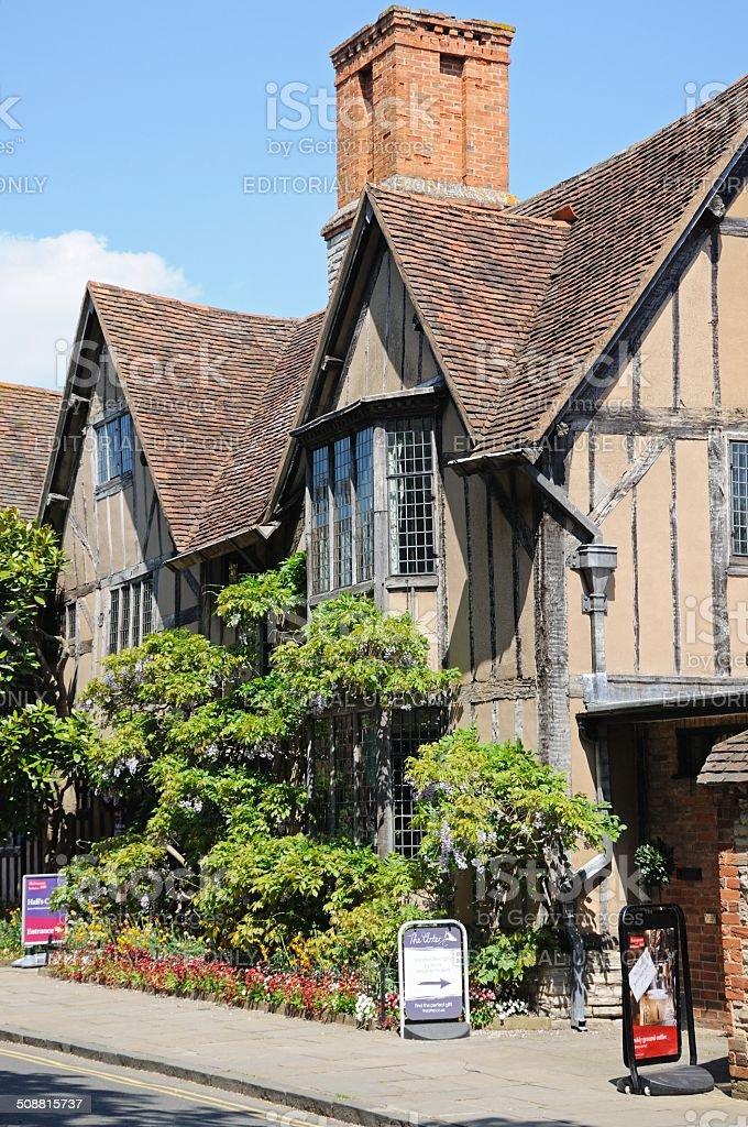 Halls Croft, Stratford-upon-Avon. stock photo