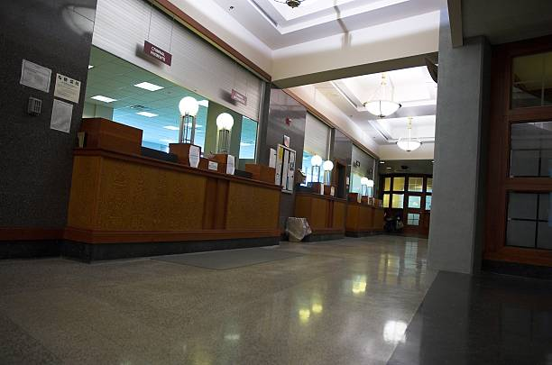 halls of justice stock photo