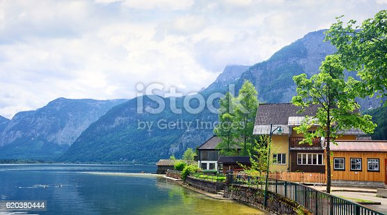 Hallstatt Austria - Stockowe zdjęcia i więcej obrazów Alpy